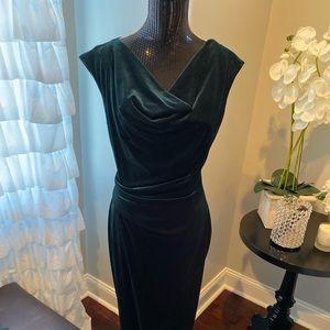 Velvet green Vince Camino dress